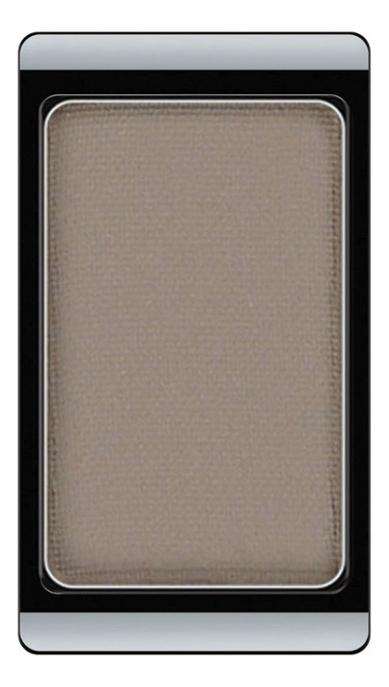 Тени для век матовые Eyeshadow Matt 0,8г: 520 Light Grey Mocha тени матовые с мерцанием artdeco