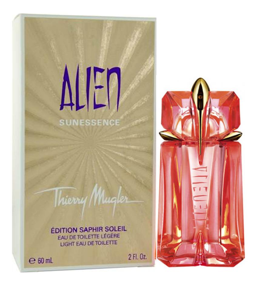 Фото - Mugler Alien Sunessence Edition Saphir Soleil: туалетная вода 60мл mugler alien men туалетная вода 6мл