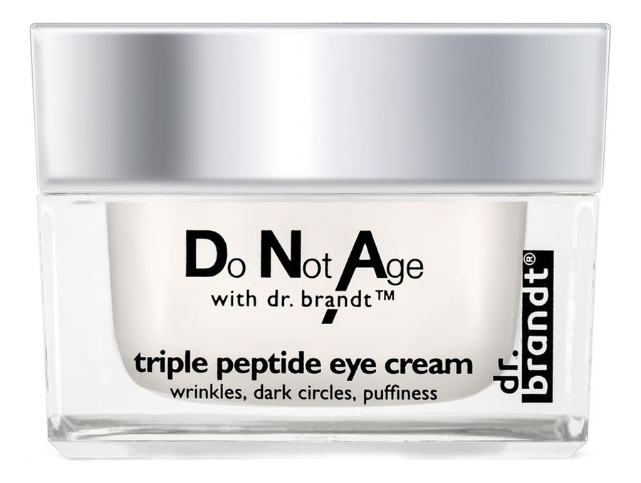 Омолаживающий крем для области вокруг глаз Do Not Age Triple Peptide Eye Cream 15г крем dr brandt do not age time defying cream для лица 50 г