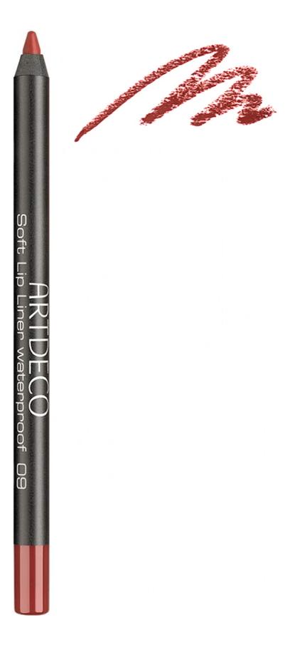 Карандаш для губ водостойкий Soft Lip Liner Waterproof 1,2г: 09 Bonfire недорого