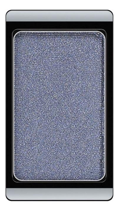 Тени для век перламутровые Eyeshadow Pearl 0,8г: 72 Smokey Blue тени для век матовые eyeshadow matt 0 8г 524 dark grey mocha