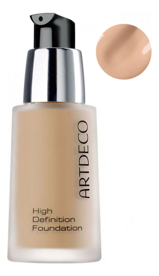 Тональная основа High Definition Foundation 30мл: 08 Natural Peach