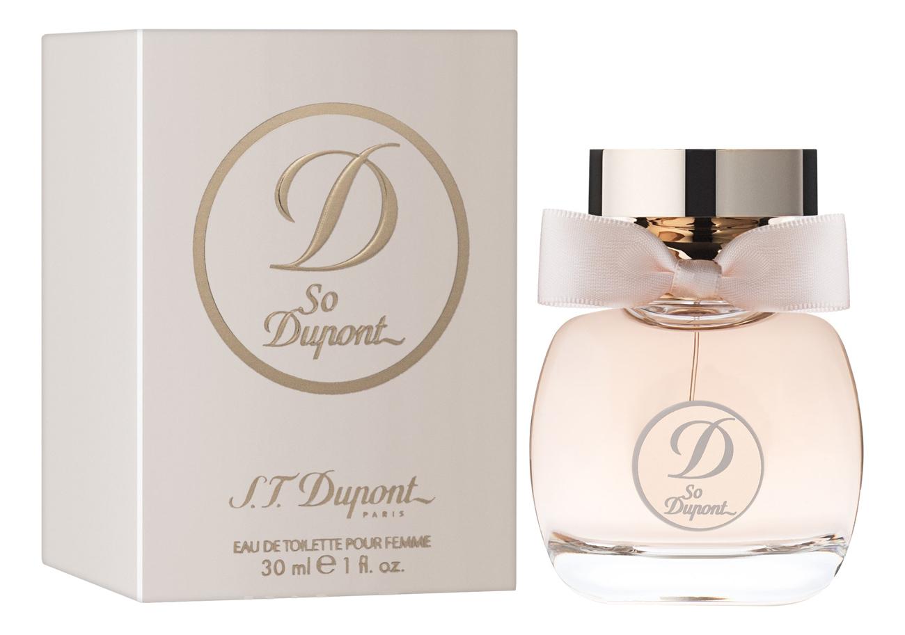So Dupont Femme: туалетная вода 30мл miss dupont парфюмерная вода 30мл