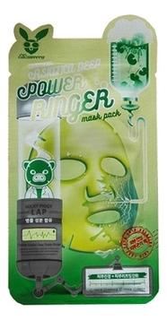 Купить Тканевая маска для лица с экстрактом центеллы Centella Asiatica Deep Power Ringer Mask Pack: Маска 10*23мл, Elizavecca