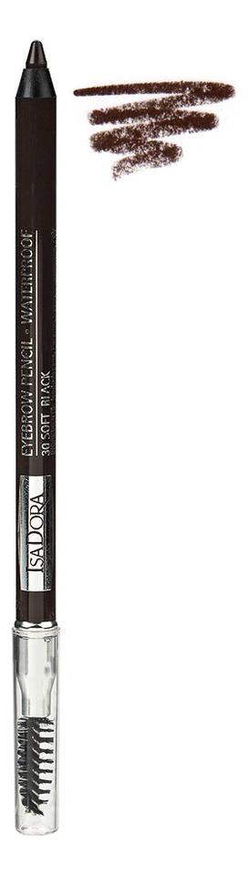 Карандаш для бровей водостойкий EyeBrow Pencil Waterproof 1,2г: 30 Soft Brow