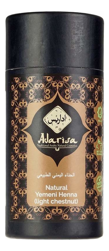 Купить Йеменская хна для волос 100г: Light Chestnut, Adarisa