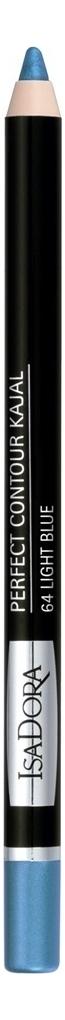 Купить Карандаш для век Perfect Contour Kajal 1, 2г: 64 Light Blue, IsaDora