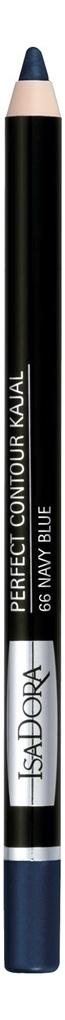 Купить Карандаш для век Perfect Contour Kajal 1, 2г: 66 Navy Blue, IsaDora