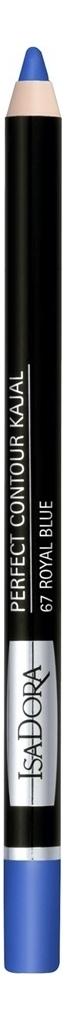 Купить Карандаш для век Perfect Contour Kajal 1, 2г: 67 Royal Blue, IsaDora