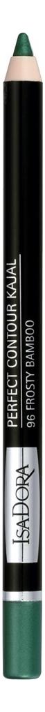 Купить Карандаш для век Perfect Contour Kajal 1, 2г: 96 Frosty Bamboo, IsaDora