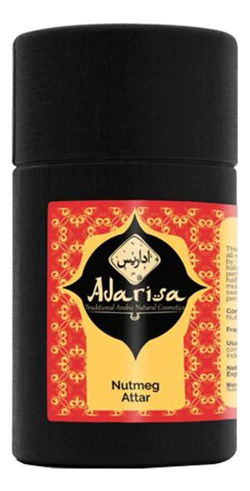 Adarisa Аттар мускатника: масляные духи 1мл adarisa аттар листьев табака масляные духи 1мл