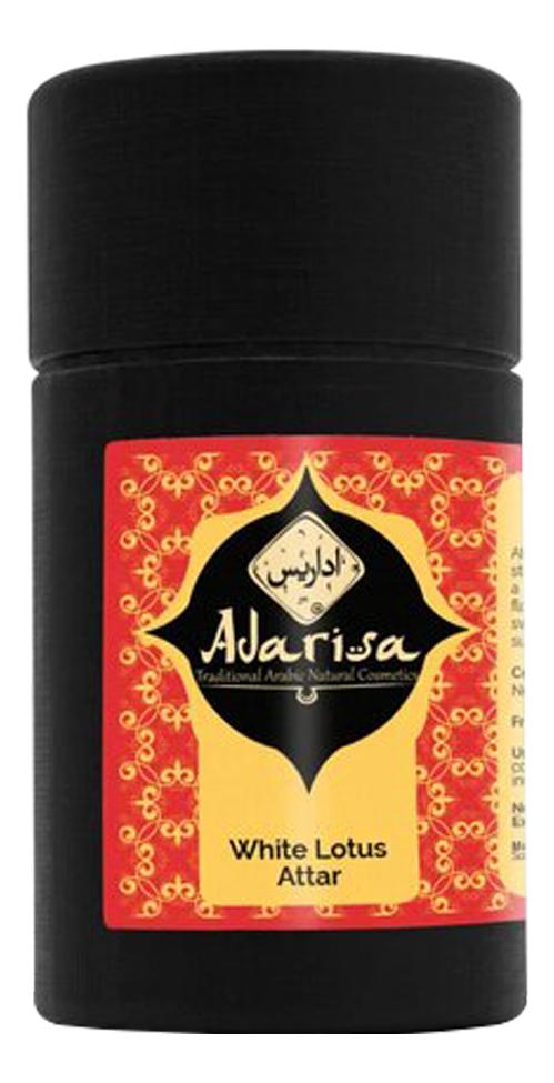 Adarisa Аттар белого лотоса: масляные духи 1мл adarisa аттар листьев табака масляные духи 1мл