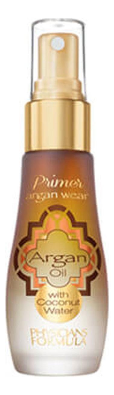 Праймер 2 в 1 с аргановым маслом и кокосовой водой Argan Wear Oil & Coconut Water Primer 30мл