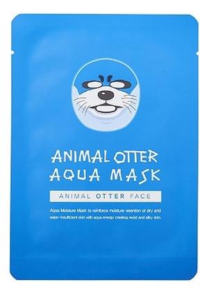 Тканевая маска для лица Animal Otter Aqua Mask 25мл фото