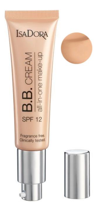 BB-крем Cream All-in-One Make-up SPF12 35мл: 10 Light Beige цена 2017