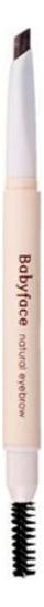 Купить Карандаш для бровей Babyface Natural Eyebrow 0, 3г: 02 Deep Brown, It's Skin