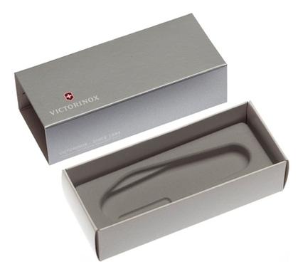 Коробка для ножей 91мм толщиной 6-7 уровней (серебристая) victorinox набор ножей для стейков swiss classic 6 пр 11 см 6 7232 6 victorinox