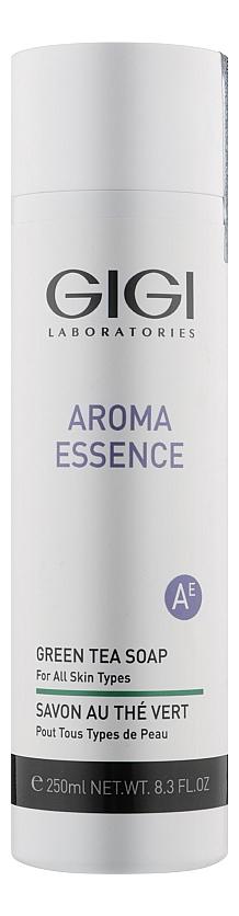 Купить Жидкое мыло с экстрактом зеленого чая для лица Aroma Essence Green Tea Soap For All Skin Types 250мл, GiGi