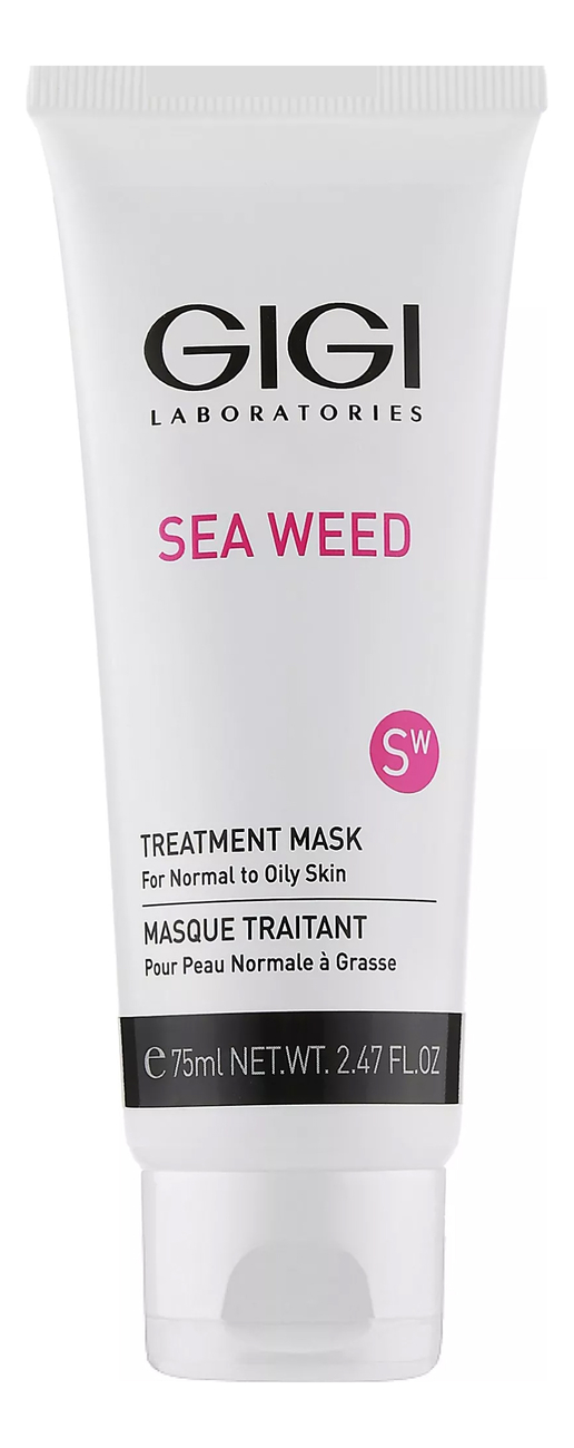 Лечебная маска для лица Sea Weed Treatment Mask For Normal To Oily Skin 75мл: Маска 75мл
