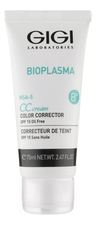 GiGi CC крем для лица Bioplasma CC Cream Color Corrector SPF15 75мл