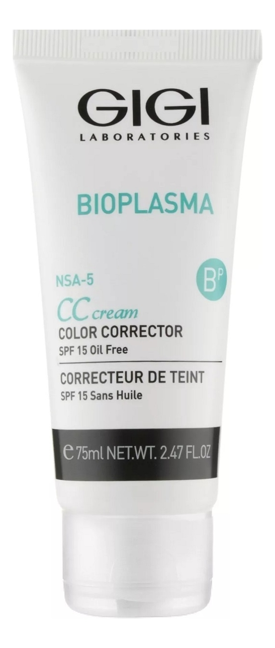CC крем для лица Bioplasma Cream Color Corrector SPF15 75мл