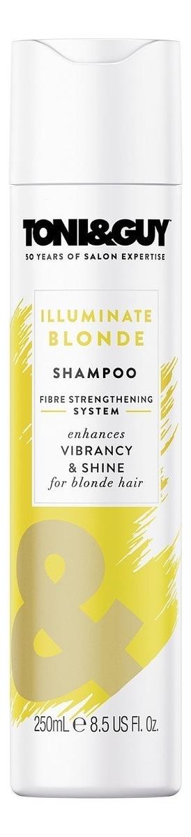Шампунь Сияние светлых волос Illuminate Blonde Shampoo 250мл шампунь для светлых и седых волос ds blonde shampoo шампунь 250мл