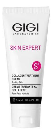 Питательный крем для лица Collagen Elastin Treatment Cream For Dry Skin: Крем 75мл