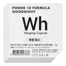 It's Skin Ночная маска для лица Power 10 Formula Goodnight Wh Sleeping Capsule 5г