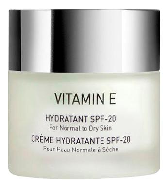 Крем для сухой кожи лица с витамином Vitamin E Hydratant SPF20: Крем 50мл увлажняющий крем для сухой кожи лица hydraphase uv intense rich spf20 50мл