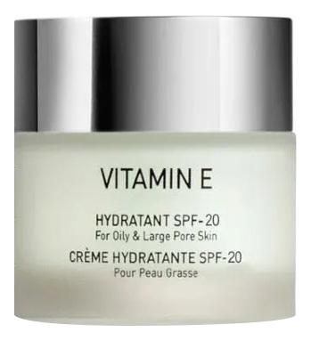 Крем для жирной кожи лица с витамином Е Vitamin E Hydratant SPF17 50мл: Крем 50мл крем от растяжек с витамином е