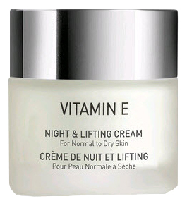 Ночной лифтинг крем для лица Vitamin E Night & Lifting Cream 50мл: Крем 50мл крем для лица ультра лифтинг lift structure ultra lifting cream 50мл