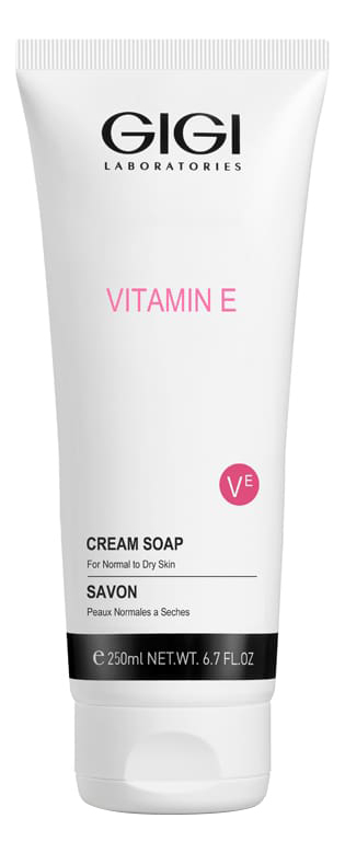 Фото - Жидкое мыло-крем для кожи лица Vitamin E Cream Soap 250мл gigi жидкое крем мыло для сухой и обезвоженной кожи витамин е 250 мл gigi vitamin e