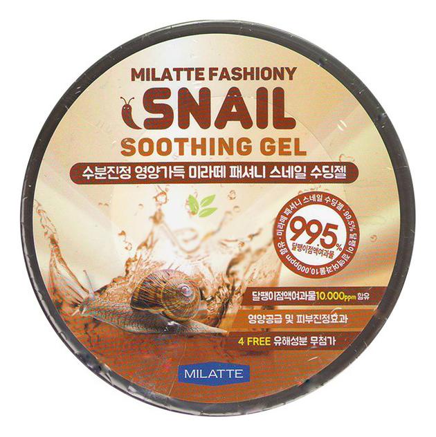 Гель для лица и тела с экстрактом улиточного муцина Fashiony Snail Soothing Gel 300мл