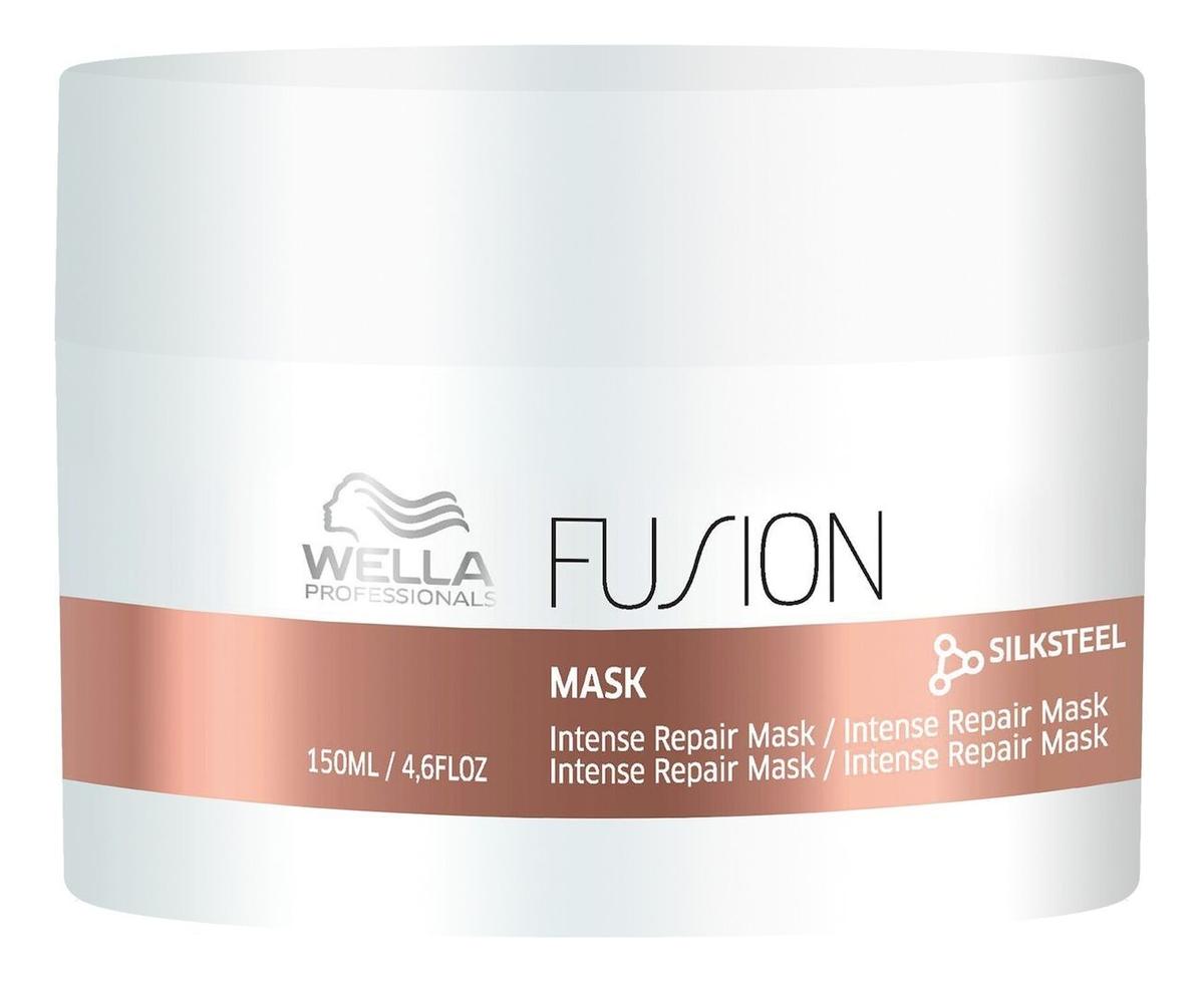 Интенсивная восстанавливающая маска для волос Fusion Intense Repair Mask: Маска 150мл wella амино сыворотка fusion интенсивная восстанавливающая 70 мл