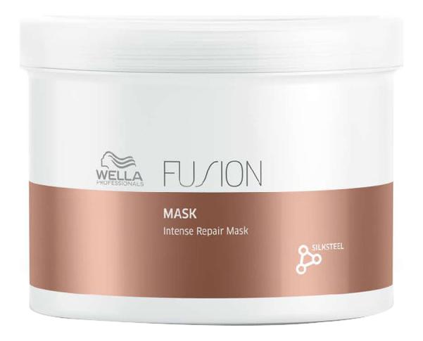 Интенсивная восстанавливающая маска для волос Fusion Intense Repair Mask: Маска 500мл wella амино сыворотка fusion интенсивная восстанавливающая 70 мл