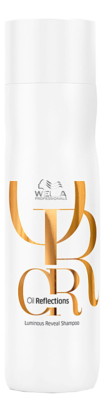 Купить Шампунь для интенсивного блеска волос Oil Reflections Luminous Reveal Shampoo: Шампунь 250мл, Wella