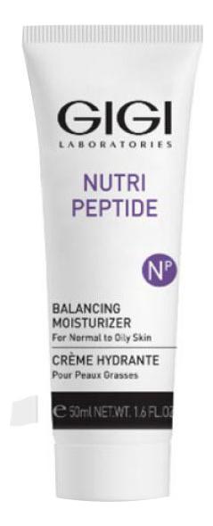 Пептидный балансирующий крем для жирной кожи лица Nutri-Peptide Balancing Moisturizer: Крем 50мл gigi пептидный увлажняющий балансирующий крем для жирной кожи 50 мл gigi nutri peptide