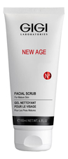 GiGi Скраб для лица коралловый New Age Facial Scrub 180мл