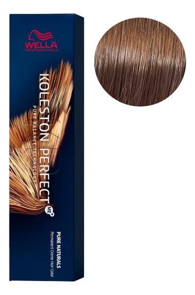 Стойкая крем-краска для волос Koleston Perfect Color Pure Naturals 60мл: 77/0 Блонд интенсивный