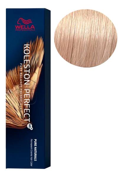 Фото - Стойкая крем-краска для волос Koleston Perfect Color Pure Naturals 60мл: 10/03 Пшеница стойкая крем краска для волос koleston perfect color pure naturals 60мл 8 04 яркий закат