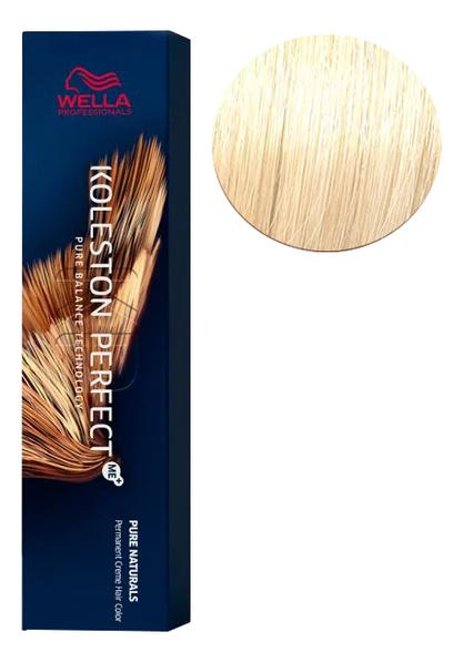 Фото - Стойкая крем-краска для волос Koleston Perfect Color Pure Naturals 60мл: 10/0 Яркий блонд стойкая крем краска для волос koleston perfect color pure naturals 60мл 8 04 яркий закат