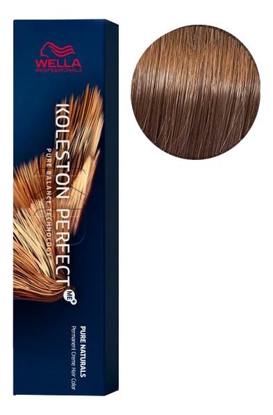 Фото - Стойкая крем-краска для волос Koleston Perfect Color Pure Naturals 60мл: 7/00 Блонд натуральный стойкая крем краска для волос koleston perfect color pure naturals 60мл 8 04 яркий закат