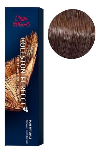 Фото - Стойкая крем-краска для волос Koleston Perfect Color Pure Naturals 60мл: 6/07 Кипарис стойкая крем краска для волос koleston perfect color pure naturals 60мл 8 04 яркий закат