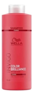 Шампунь для окрашенных жестких волос Invigo Color Brilliance Shampoo: Шампунь 1000мл