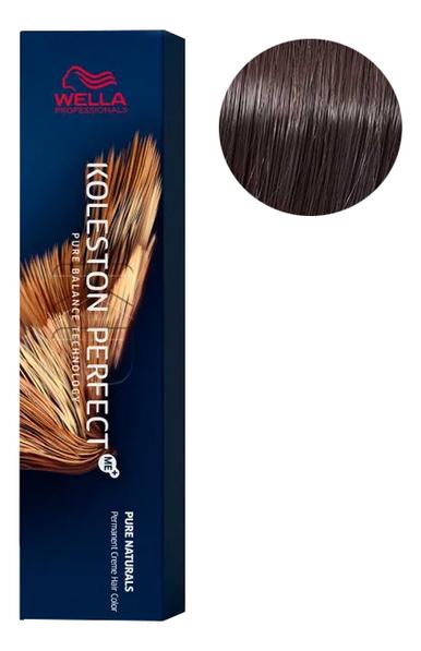 Фото - Стойкая крем-краска для волос Koleston Perfect Color Pure Naturals 60мл: 4/07 Сакура стойкая крем краска для волос koleston perfect color pure naturals 60мл 8 04 яркий закат