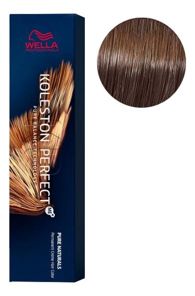 Стойкая крем-краска для волос Koleston Perfect Color Pure Naturals 60мл: 6/0 Чистый темный блонд фото