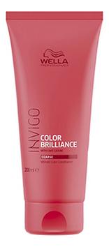 Бальзам для окрашенных жестких волос Invigo Color Brilliance Conditioner: Бальзам 200мл
