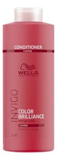 Бальзам для окрашенных жестких волос Invigo Color Brilliance Conditioner: Бальзам 1000мл бальзам для окрашенных волос silk touch conditioner for color stabilizer 1000мл