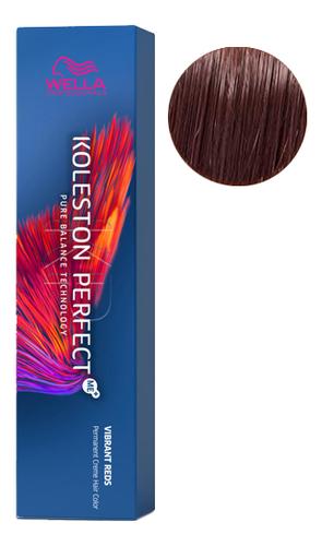 Стойкая крем-краска для волос Koleston Perfect Color Vibrant Reds 60мл: 6/45 Темно-красный гранат краска для волос без аммиака color touch vibrant reds 60мл 6 47 красный гранат
