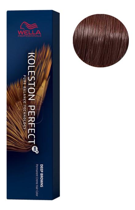 Стойкая крем-краска для волос Koleston Perfect Color Deep Browns 60мл: 5/77 Мокко